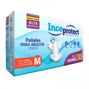 Pañales Adulto INCOprotect Talle M
