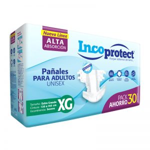 Pañales Adulto INCOprotect Talle XG
